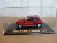 RENAULT  5 TURBO de 1980   AU 1/43 ème NOREV