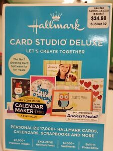 Hallmark Card Studio Deluxe 2016 Computer Software Version Windows 7, 8, 10