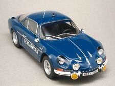 ALPINE RENAULT A110 1600S GENDARMERIE, voiture miniature 1/18e NOREV 185301