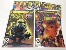 CYBER RAD #1-7 (CONTINUITY/EARLY NEAL ADAMS COVER/0617418) COMPLETE SET LOT OF 7