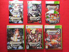 Warriors OROCHI 1 + 2 + 3 collection! ~ ~ XBOX 360 complet ~ 12 + Koei PAL