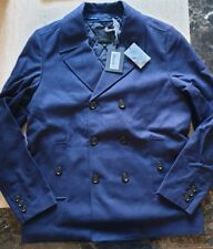 BNWT mens TED BAKER PEA COAT reefer jacket removable lining size 6 /XXL RRP £239