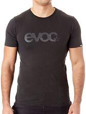 Evoc Black Logo T-Shirt Medium Mens Shirt MED Cycling MTB Blackline
