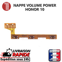Nappe bouton ON OFF HONOR 10 power button volume up down flex ribbon connecteur