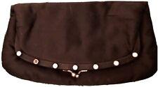 Vintage Black Folding Clutch
