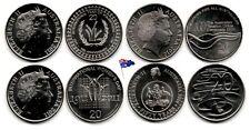 Australie - Lot - 20 cents (2010-11-16 - 4 coins UNC)