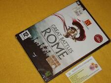 THE HISTORY CHANNEL GREAT BATTLES OF ROME x PC NUOVO SIGILLATO Versione ITALIANA