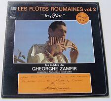 GHEORGHE ZAMFIR . LES FLUTES ROUMAINES . Vol 2 . LE NAÏ . LP