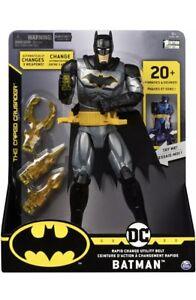 Batman 12 Inch Rapid Change Utility Belt Deluxe Action Figure lights and Sound