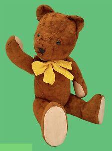 """Lovely vintage GOKRA Gottfried Kraeber teddy bear 49cm - 19,3"""" 1940's"""