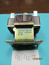 Stancor 91-907 24VAC Coil Relay, 125VA, 3A DPDT, Solenoid Action, New Old Stock