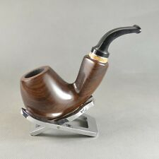 Nice Handmade Natural Dark Brown Ebony Wood Tobacco Smoking Pipes FZ676Q