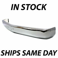 NEW Chrome - Steel Front Bumper For 1988-1998 Chevy Silverado Sierra K1500 C1500