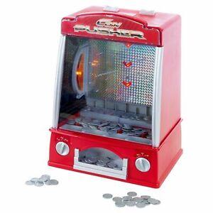 Mini Coin Pusher Arcade Game Replica 150 Play Token Dozer 13 In High