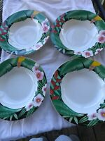Misono Tropical Night 4843 Soup Bowl Set Of 4