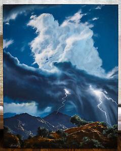 Dale Terbush ORIGINAL oil on canvas - 30 X 40 1990
