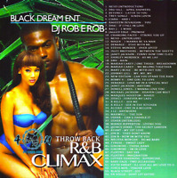 DJ ROB E ROB RNB Climax SLOW JAMS CLASSIC R&B MIXTAPE Promo MIX CD