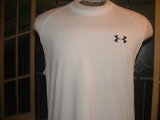 UNDER ARMOUR(Heat*Gear)SLEEVLESS T-SHIRT.(Fitted)Small.>NICE>LQQK>