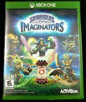 * Microsoft Xbox One Activision Skylanders Imaginators Game, Case, & Cover Art👾