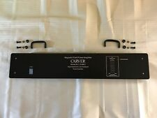 Carver M-1.0t MK2 Faceplate BLACK with Handles, Spacers & Hardware