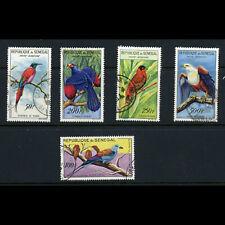 SENEGAL 1960 Birds. SG 234-238. Fine Used. (WD966)