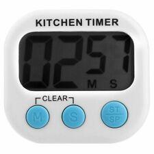 1 H Juego de Escritorio Mecánico De Cocina Cocinar Temporizador de cuenta regresiva detener Alarma C W5O6
