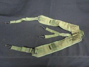 U.S. Military Individual Equipment LC-1 Belt Suspenders 1975 No Reserve