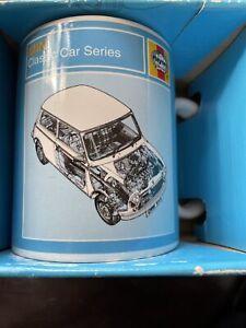 Haynes Mini Classic Car Series Mug New In Box