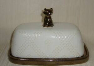 Gold Butter Dishes For Sale Ebay