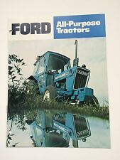 Ford 1600 2600 3600 4100 4600 5600 6600 7600 Tractor Color Brochure 16 pg. '78