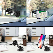 Car Magnet Phone Holder Universal Compatibility Windshield Dashboard Quick Snap