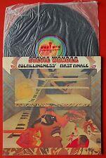 STEVIE WONDER FULFILLINGNESS' FIRST FINALE 1974 TAMLA MOTOWN ITALIAN LP FUNK