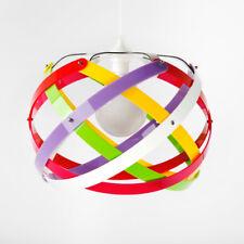 Lampadario in Plexiglass Colorato Sospensione E27 Design Moderno Cameretta