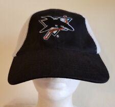 SAN JOSE SHARKS/HP INVENT SGA  FLEX FIT CAP/HAT--PROMO--EUC!!