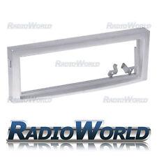 Citroen C5 Single Din Stereo Radio Fascia Facia Panel Plate Surround Trim Silver