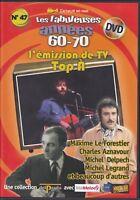 DVD TOP A Michel LEGRAND DELPECH Maxime LE FORESTIER DALIDA