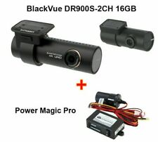 BlackVue DR900S-2CH 4K With Power Magic Pro Cloud Wi-Fi GPS 16GB DASH-CAM