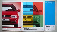Prospekt Volkswagen VW Polo, 8.1994, 60 Seiten +Daten/Ausstattungen + Preisliste