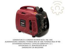 Generatore corrente Inverter silenziato 1 Kw PowerMate Pmi1000 S by Pramac
