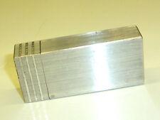 KNAPP VINTAGE SOLID ALUMINIUM BLOCK POCKET LIGHTER - FEUERZEUG- 1940 - NICE