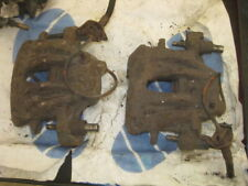 VW TRANSPORTER TYPE 2 T3 SYNCRO FRONT BRAKE CALLIPERS SPARE OR REPAIRS