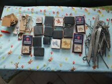 16  moules prince august +plomb + accessoires