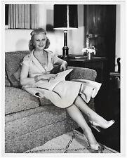 Vintage 1950s Screen Beauty Joan Caulfield Willy de Mond Hose Casual Photograph