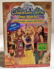 Cheetah Girls One World (DVD 2008) Extended Music Edition & Free Glitter Tattoos