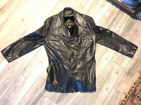 Vintage Imperial Men's Leather 2 in 1 Insulated Jacket/Parka 52T