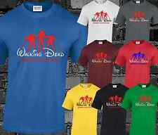 Walking Dead Disney Mens T Shirt Rick Grimes Daryl Dixon Michonne Walker Fashion