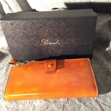 Dante Tan Large Capacity Wax Real Leather Wallet Clutch Travel Purse