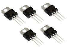 LOT DE 5 REGULATEURS +5V / 1,5A: L7805CV / LM7805 / L7805 TO220