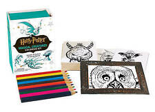 Harry Potter Magical Creatures Coloring Kit (Running Press Kits), Press, Running