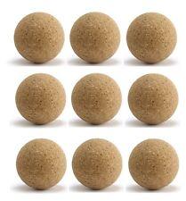 9pcs Balles de Baby foot pro de café neuves en liege & homologuées baby-foot